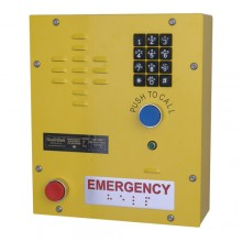 Heavy Duty Emergency Wall Mount Telephone with Teleseal Keypad