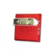HS4 Series Red Horn Strobe 115/177 | HS4-24MCCH-FR
