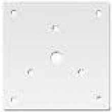White Adapter Plate to Mount the STH15SR to a Series RSSP Strobe Mounting Plate | SHMP-W