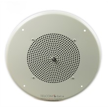 Ceiling Speaker w/ Knob Volume Control (off-white)