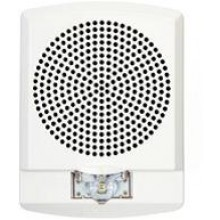 LED High Fidelity Speaker Strobe, White No Lettering