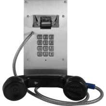 Vandal Resistant Armored VoIP Phone with Keypad by Viking Electronics