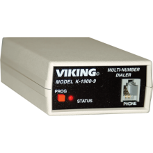 K-1900-9 Multi Number Phone Call Dialer AC Powered by Viking Electronics
