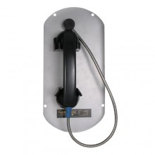 Ring Down Telephone Panel Insert with Armored Handset Cord