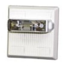 Wheelock Multitone Electronic Horn Strobe - 24 VDC / Weatherproof  With Blue Lens