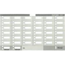 Partner 34D Telephone Designation Strips (10/pk.)