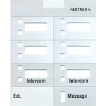 Partner Telephone 6  Button Designation Strips (10/pk.)