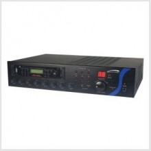 Speco PBM240AT 240W RMS P.A. Amplifier  with AM/FM Tuner