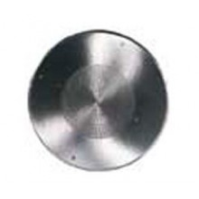 "13"" Round Polished Aluminum Ceiling Speaker Grille"