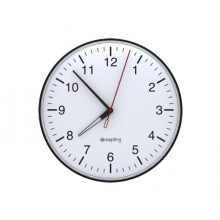 "12"" IP Analog Clock for Schools (Metal Black Case)"