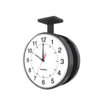 "16"" Electric Clock for Schools (White Case)"
