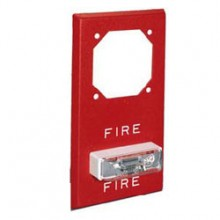 Red Series RSSP Weatherproof Strobe 12VDC, 15 (75 on Axis),Fire Lettering | RSSP-121575W-FR