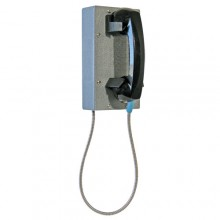 Industrial Steel Ring Down Telephone with Armored Cord