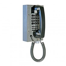 Industrial Steel Telephone with Waterproof Membrane Keypad for Hazardous Area