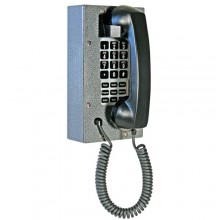 Industrial Steel Telephone with Waterproof Membrane Keypad