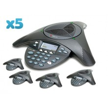 Polycom SoundStation2W Wireless Conference Phone 5 Pack