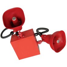 Red Cluster Speaker System with 2 horns | STH-2R