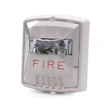 Wheelock STW Exceder Fire Alarm Strobe White