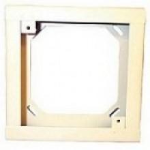 White Square Semi-flush Extension Ring  | SER-W