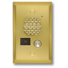 Compact Door Entry Phone With Color Video Camera