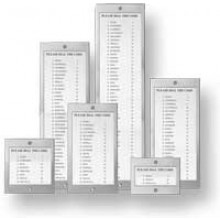 44 Name Stainless Steel Name Directory for Door Entry Systems