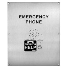 Emergency Call Box with Push for Help Button  ADA Compliant