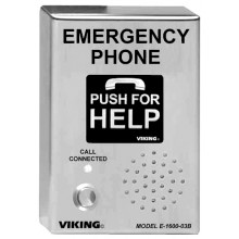 Outdoor emergency phone - VIK-E-1600-03B-EWP