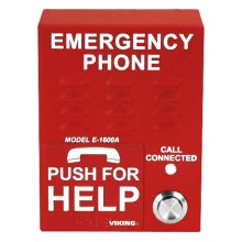 ADA Compliant Handsfree Outdoor Emergency Call Box with Enhanced Weather Protection