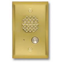 Door Intercom Entry Phone  ( Polished Brass)