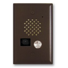 Bronze Compact Entry Phone w/ Color Video Camera