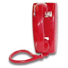 Emergency Hot-Line Phone with Built In Auto Dialer (RED)