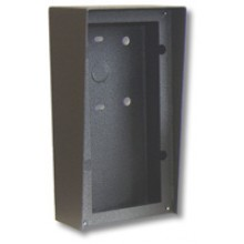 Black Vandal Resistant Surface Mount Phone Box