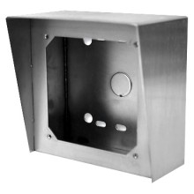 Vandal Resistant, Stainless Steel Surface Mount Box