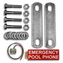 Emergency Pool Phone Mounting Kit