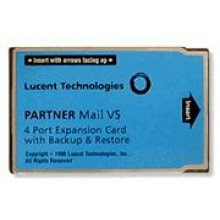 Partner Mail VS Release 5.0 4-Port Upgrade Card