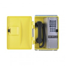 Weatherproof Telephone with Membrane Keypad