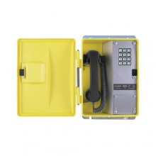 Weatherproof Telephone with Metal Keypad