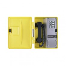 Weatherproof Outdoor Industrial Telephone with Metal Keypad WRT-30