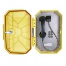 Waterproof Outdoor Industrial Telephone with Metal Keypad/Armored Handset Cord