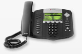 SoundPoint IP 670 A premium, SIP desktop phone with color display, HD Voice